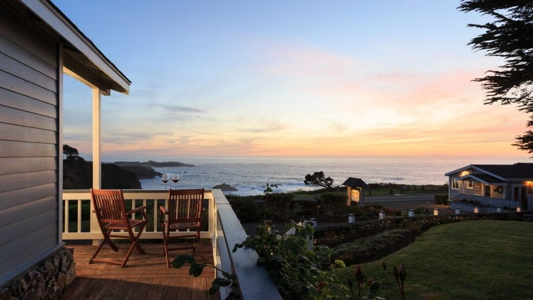 This Is Where To Spend Your Mendocino Honeymoon Sea Rock