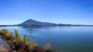 Panoramic View of Lake Clear