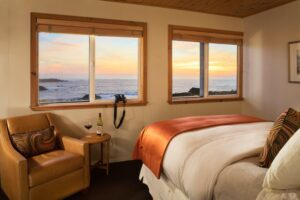 Sea Rock Inn Cottage 1 bed and ocean view