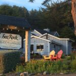 Sea Rock Bed & Breakfast Inn and Cottages Sign