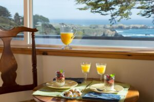 Sea Rock Inn Suite 11 breakfast