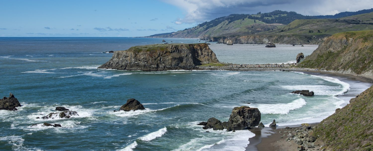 Mendocino views of the bay | outdoor activities in Mendocino