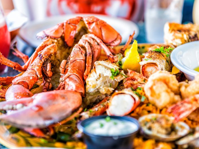 Seafood in Mendocino